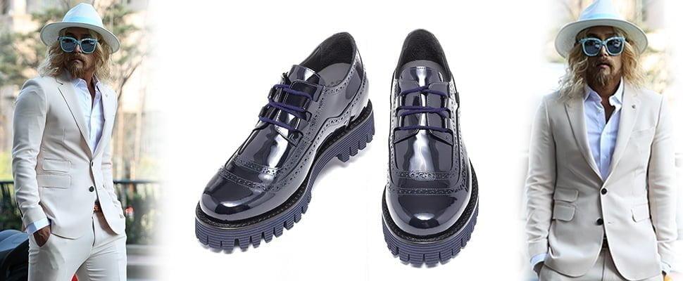 scarpe da uomo rialzanti fatte a mano in italia