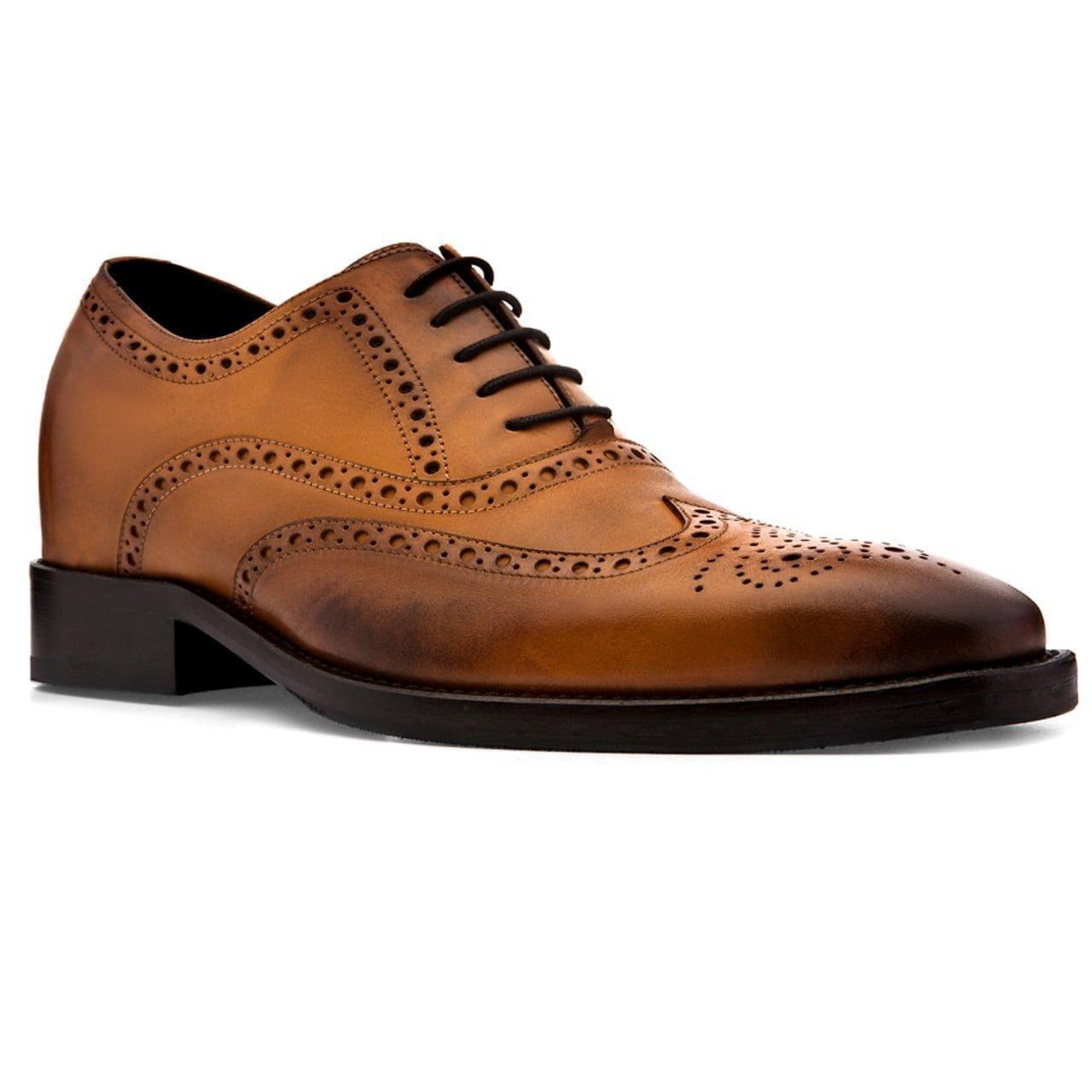brogue brown dress shoes 5