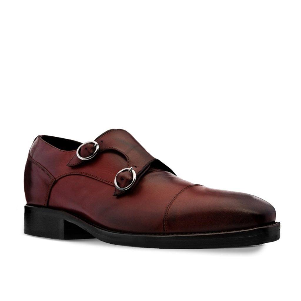 bourdeaux monk dress shoes 5