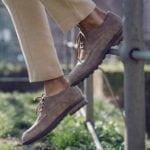 spring summer 2020 handmade italian shoes with higher heel for men guidomaggi