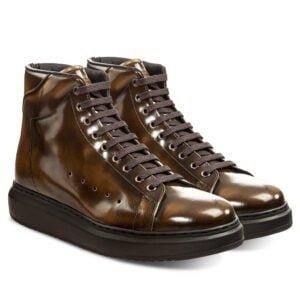 Erhöhte Schuhe Italien Leder handgefertigt | Guidomaggi Schweiz