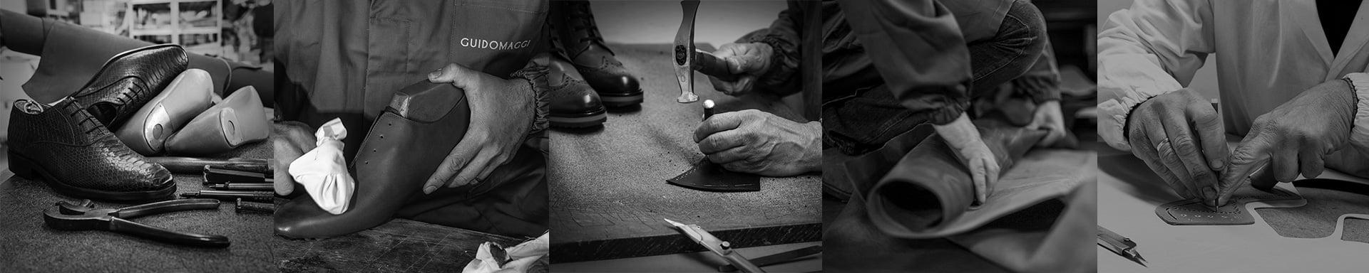 handgenähte italienische Schuhe - handgefertigt in Italien Guidomaggi