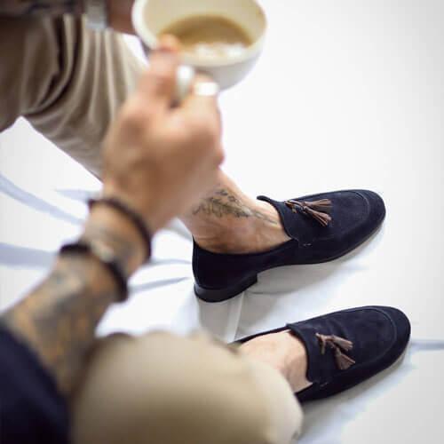 Guidomaggi Schuhe die grösser machen mit absatz für Herren