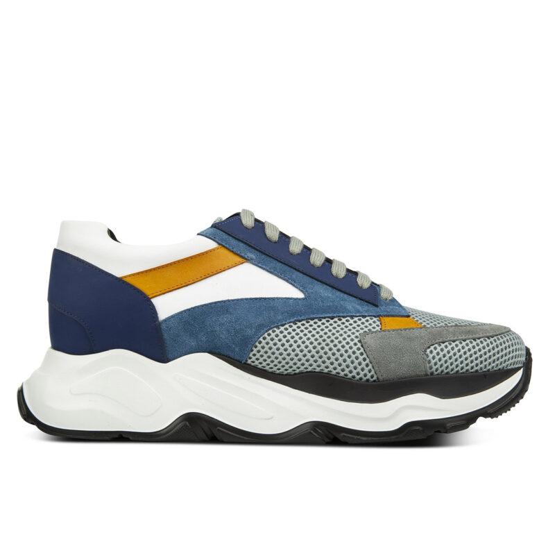 chunky sneaker schuhe die grösser machen aus Italien Guidomaggi